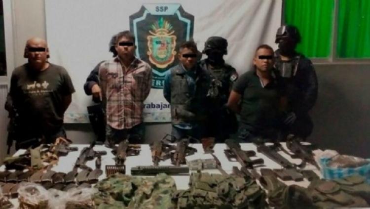 Capturan a cuatro sicarios con arsenal en la sierra de Guerrero
