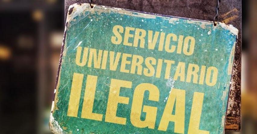 SUNEDU sanciona a 2 personas jurídicas por ofertar servicios educativos ilegales - www.sunedu.gob.pe