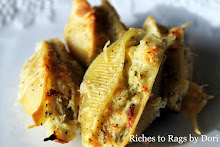 Parmesan Chicken Pesto Stuffed Shells