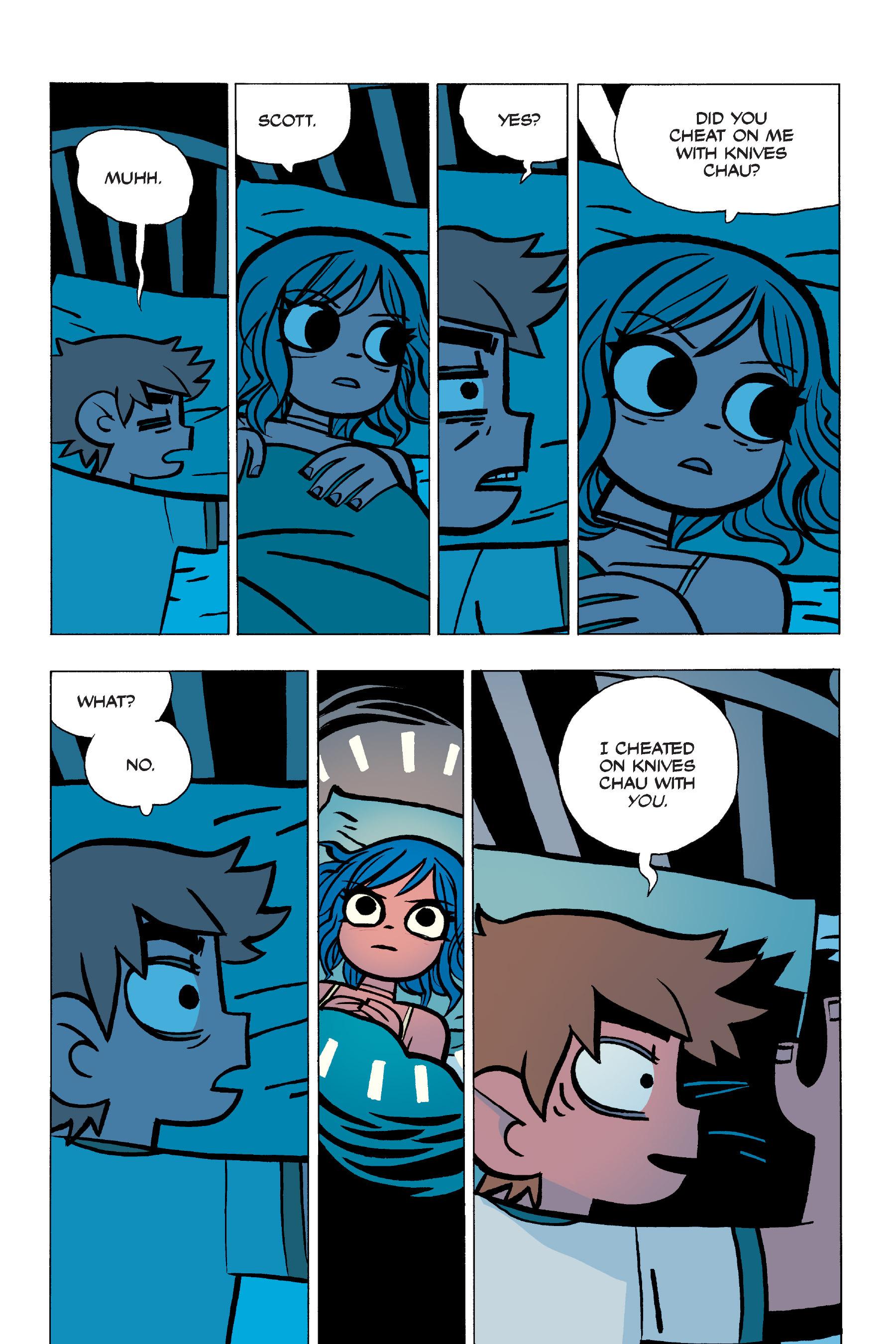 Read online Scott Pilgrim comic -  Issue #5 - 104