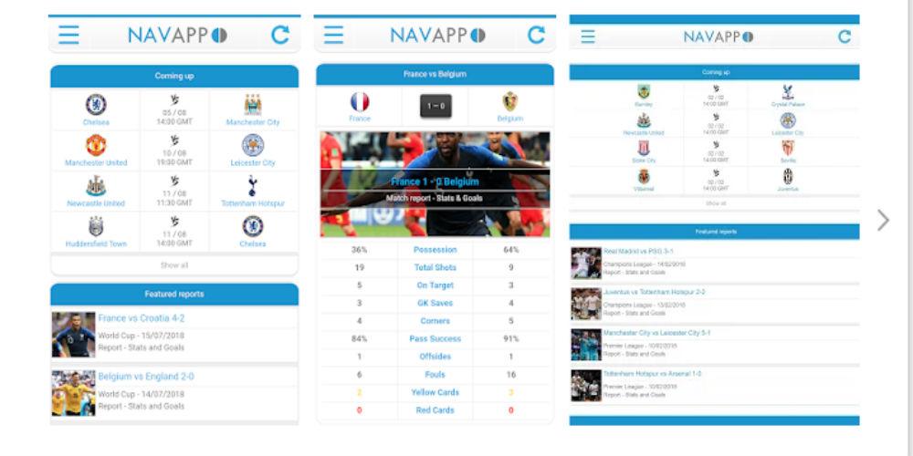 Navixsport android app