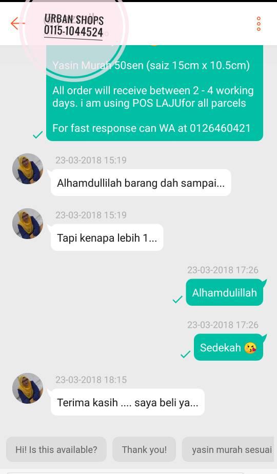 Doorgift Murah Di Selangor.