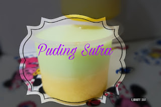 Puding Sutra Lapis / Silky Puding Puyo