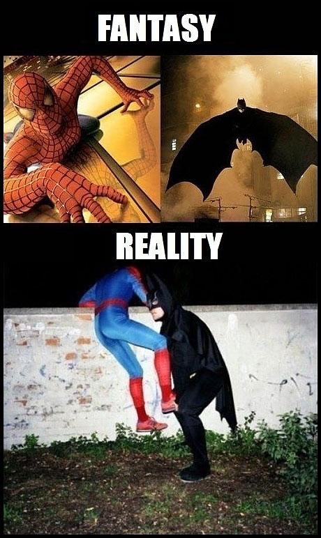 reality can be sad