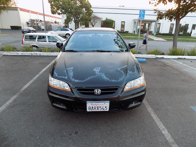 Honda Accord Coupe before new paint from Almost Everything Auto Body.