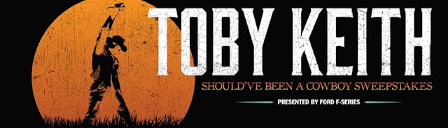 Toby Keith Should've Been A Cowboy Sweepstakes