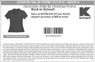 free Kmart coupons for december 2016