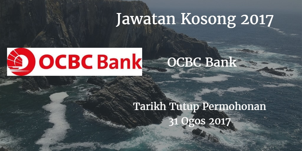 Jawatan Kosong OCBC 31 Ogos 2017