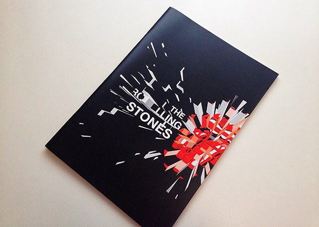 『THE ROLLING STONES A BIGGER BANG TOUR』パンフレットデザイン