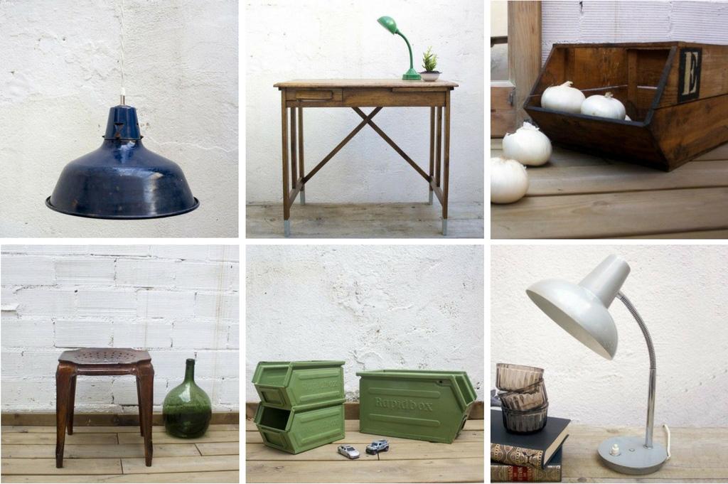 Objetos y muebles de estilo Industrial - Studio Alis -  Barcelona