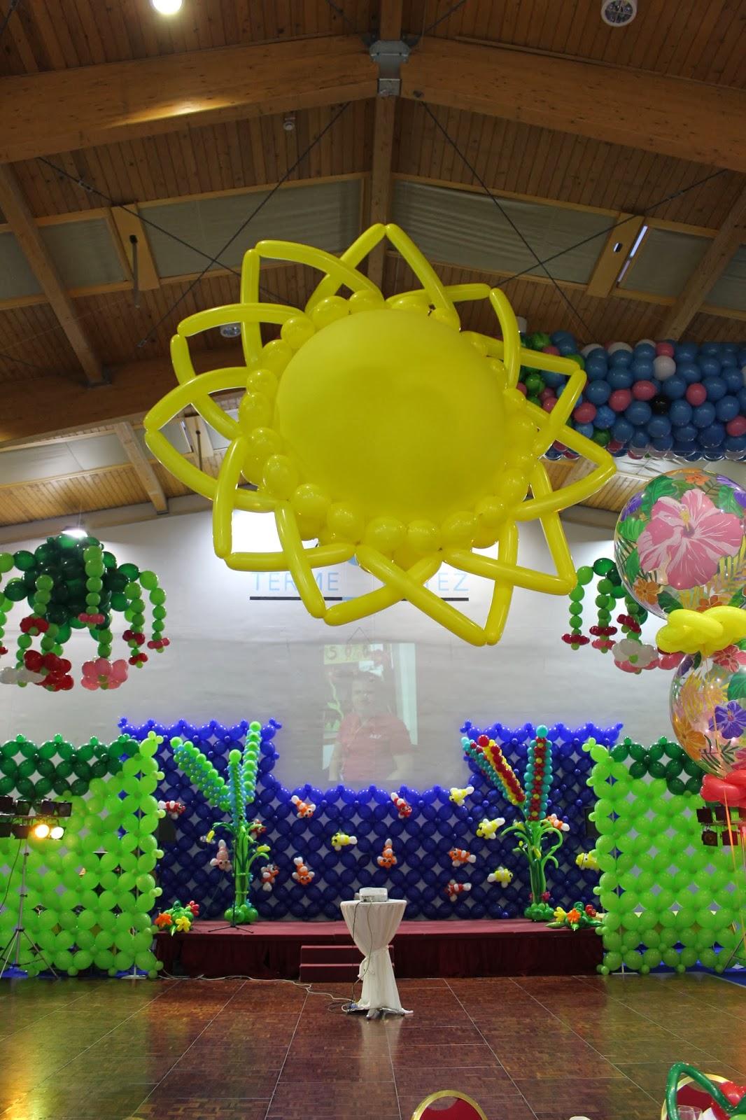The Very Best Balloon Blog: Slovenia Event 2013 - Tropical Gala ...