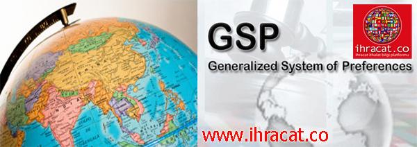 GTS ülkeleri, GSP country list