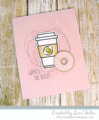 What's the Buzz? card-designed by Lori Tecler/Inking Aloud-stamps and dies from Honey Bee Stamps