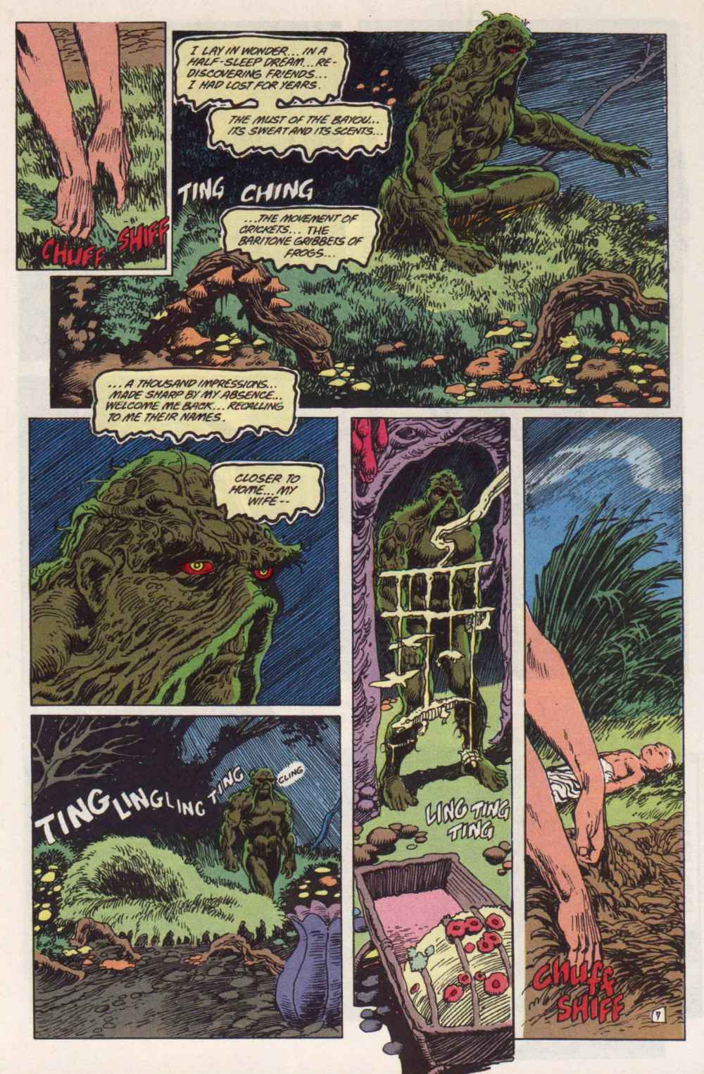 Swamp Thing (1982) Issue #91 #99 - English 7