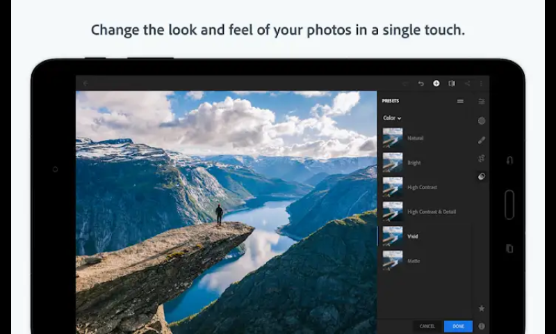 Download Lightroom CC Mod Apk ( Full Unlocked ) - FREE