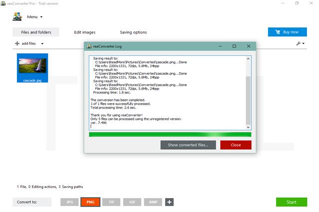 تحميل برنامج تعديل وتحرير الصور وتحويلها إلى العديد من الصيغ ReaConverter Pro للويندوز