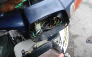 Gambar lampu depan motor ex5