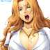Tags: Render, Bleach, Blonde hair, Cleavage, Erect nipples, Hairu, Huge Breasts, Large Breasts, Long hair, Matsumoto Rangiku, Orange hair, Tongue