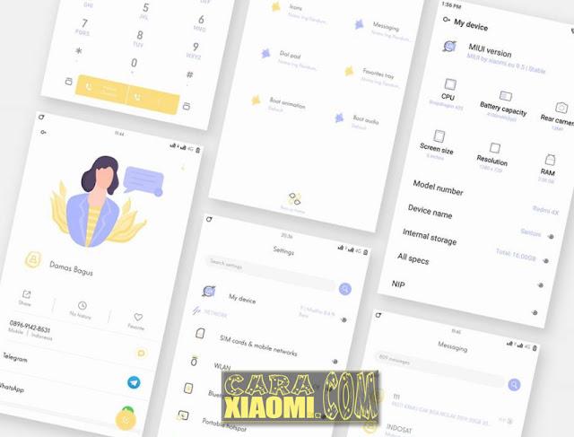 Update Tema untuk HP Xiaomi Terbaru Nrimo Ing Pandum Full Material Mtz For MIUI V9/V8