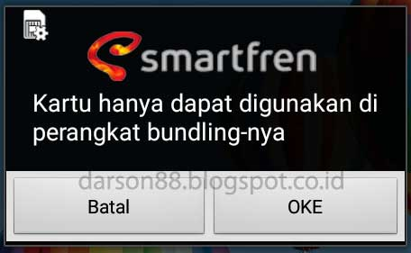 Cara agar kartu smartfren bundling bisa dipasang pada andromax lain