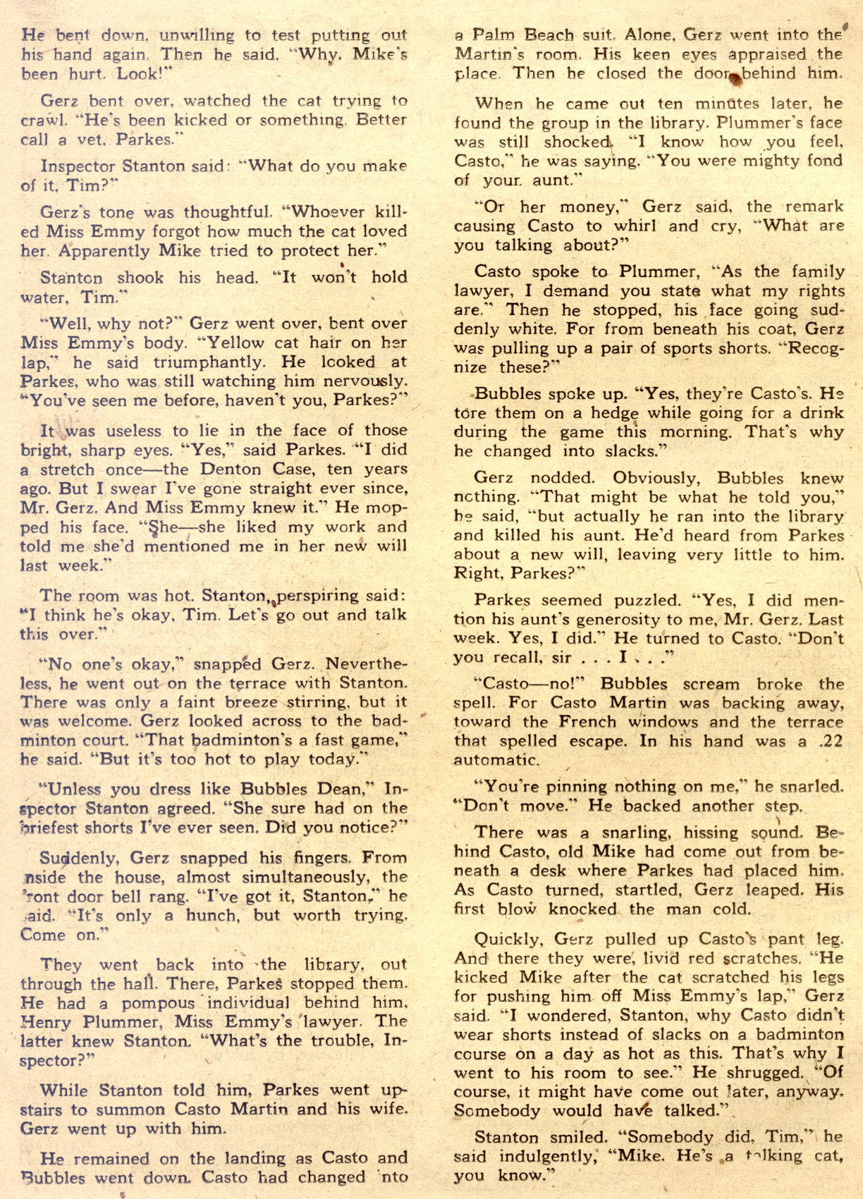 Read online Detective Comics (1937) comic -  Issue #122 - 36