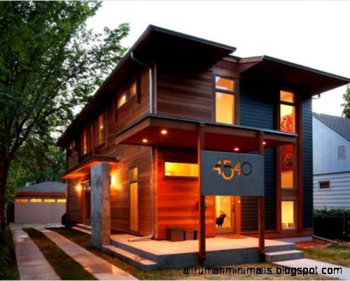 model rumah dari kayu 1