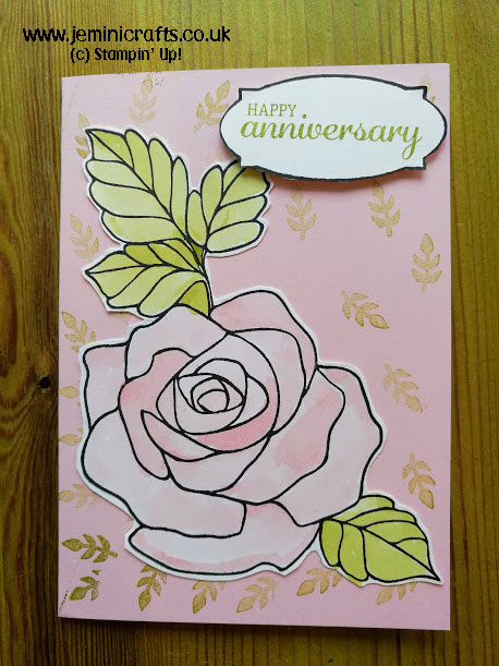 Rose Wonder stamp set makes a fantastic cards for all occasions