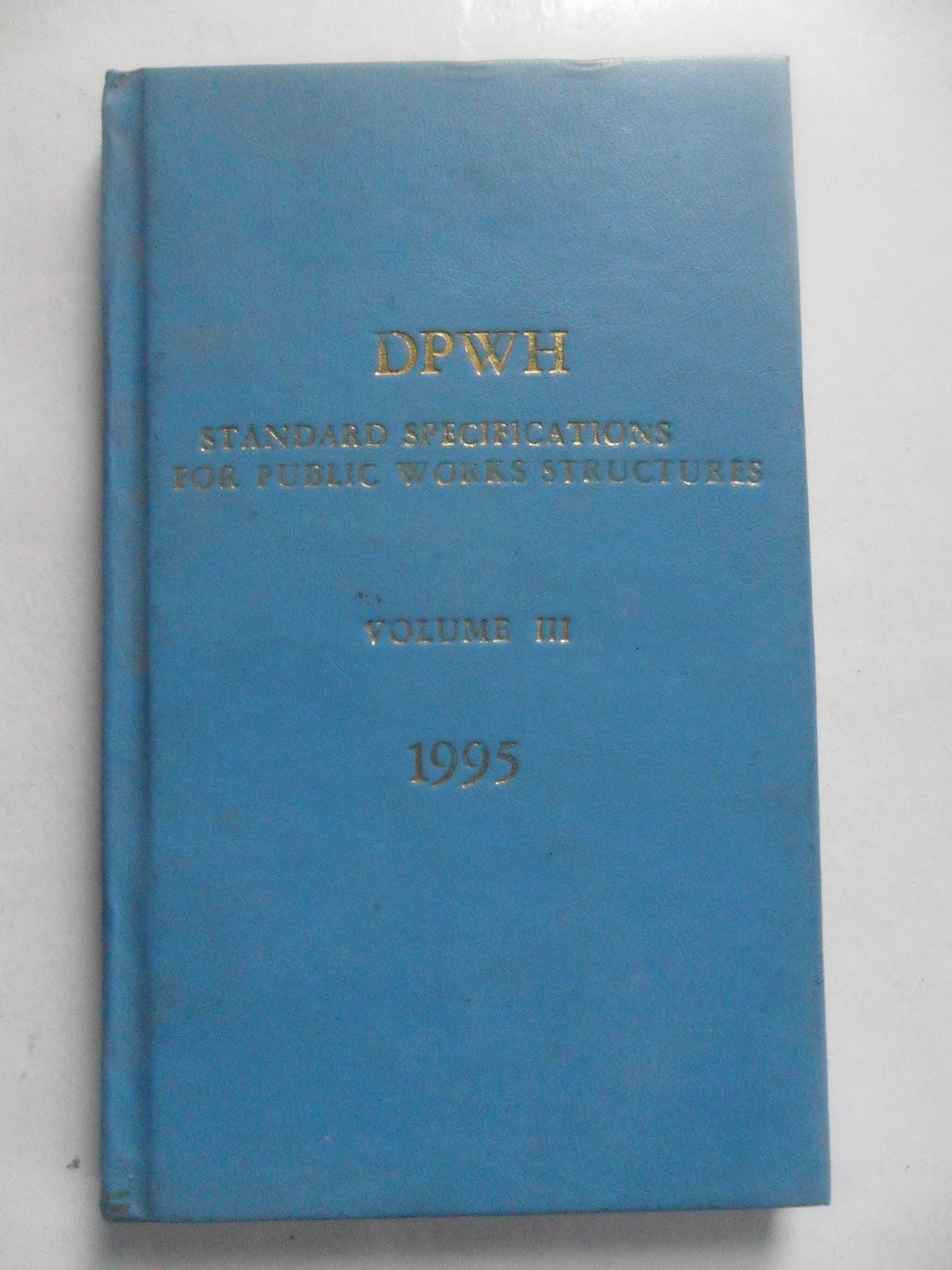 Dpwh Blue Book Volume 1 Pdf