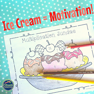 multiplication sundaes