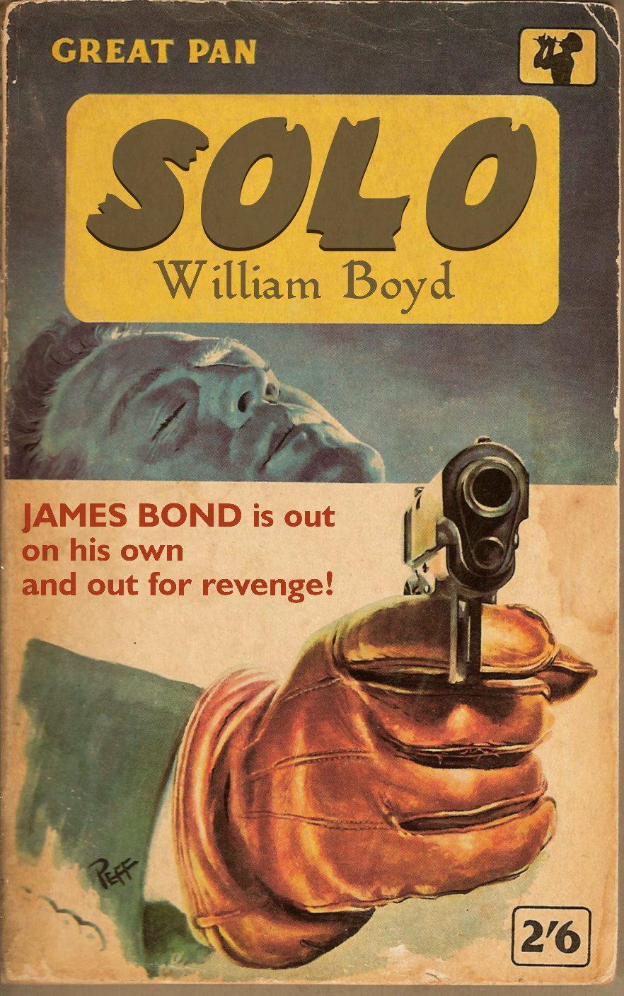 The Book Bond: Retro SOLO (fan art)