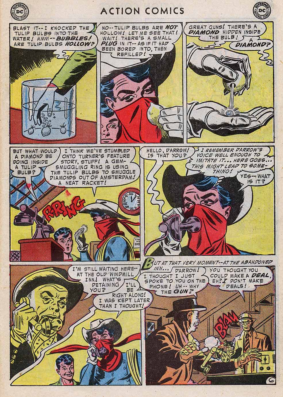 Read online Action Comics (1938) comic -  Issue #196 - 39