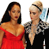 Lesbian model Cara Delevingne caught ogling Rihanna on the red carpet
