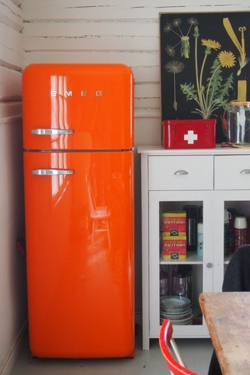 Dalliance Design A Love Affair With Design Smeg Refrigerator For West Elm