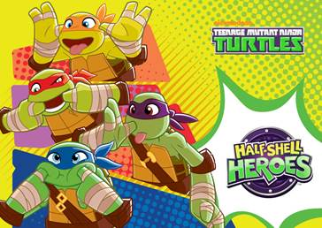 animated Teenage Mutant Ninja Turtles