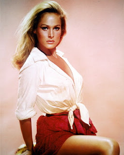 sexy Ursula Andress in Four For Texas