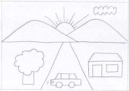 Gambar Pemandangan Sekolahan Gambar Hq