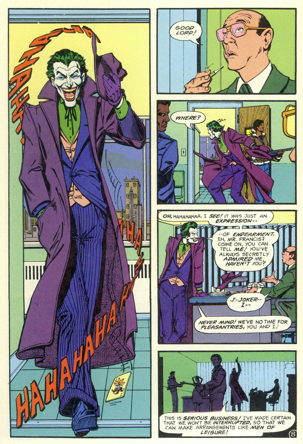 Read online Shadow of the Batman comic -  Issue #4 - 11