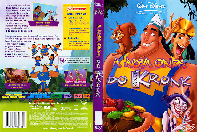 Capa DVD A NOVA ONDA DO KRONK