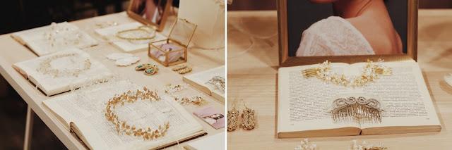 Biżuteria i ozdoby do włosów na ślub Jeżka Targi Happy Together.