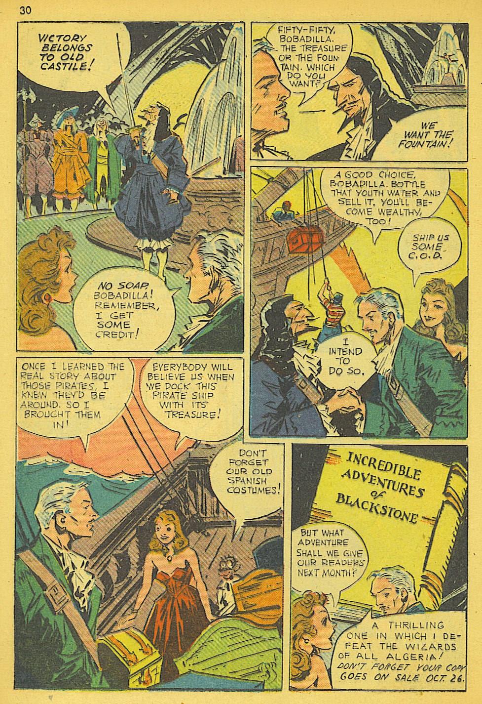 Read online Super-Magician Comics comic -  Issue #19 - 30