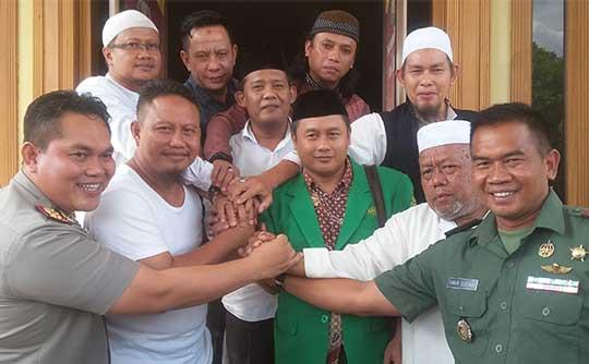 banser dengan lpi kabupaten cirebon berdamai