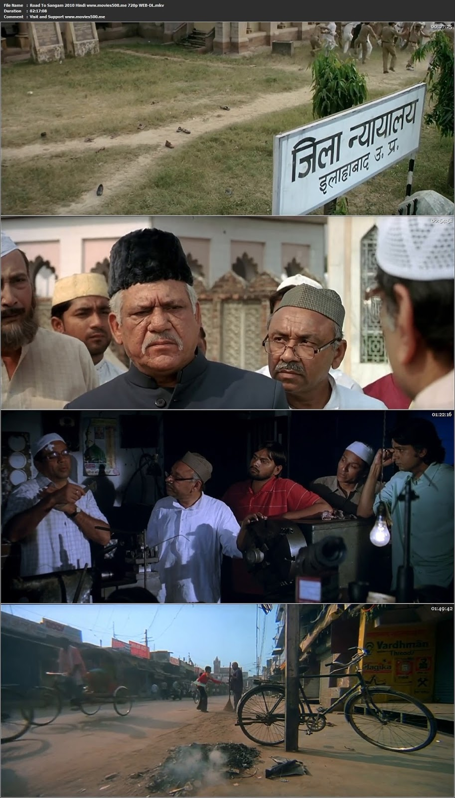 Road To Sangam 2010 Hindi WEB DL 720p at movies500.info