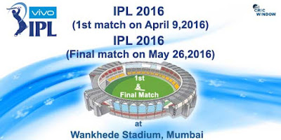Live streaming of 2016  IPL 2016 Final