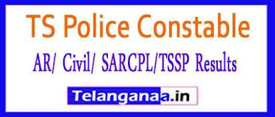 TS Police Constable (AR/ Civil/ SARCPL/TSSP) Mains Exam Results