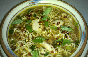 Spicy Chicken and Noodle Soup
