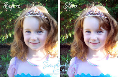 BIRTHDAY PORTRAITS & PHOTOSHOP ELEMENTS EDITING TIPS