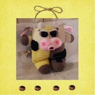buttereta moolove crochet amigurumi cow pattern
