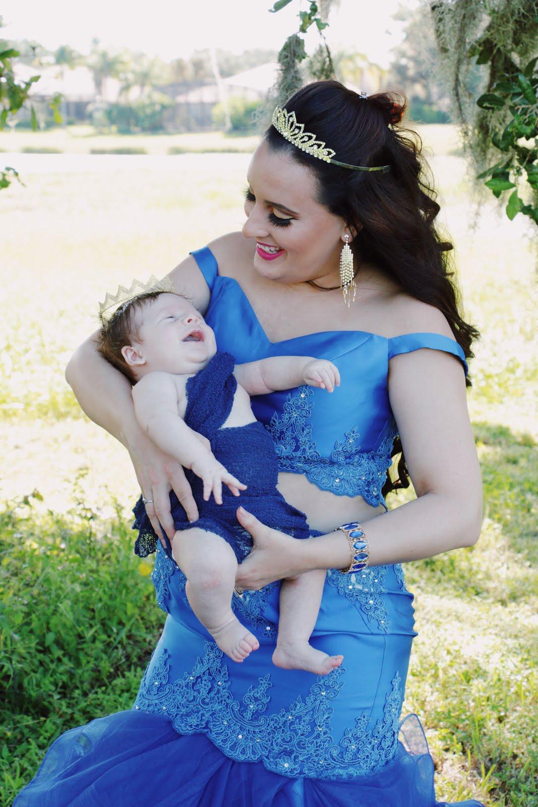 Mama-Queen-Baby-Prince-Royal -Photoshoot-Vivi-Brizuela