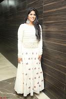 Megha Akash in beautiful White Anarkali Dress at Pre release function of Movie LIE ~ Celebrities Galleries 070.JPG