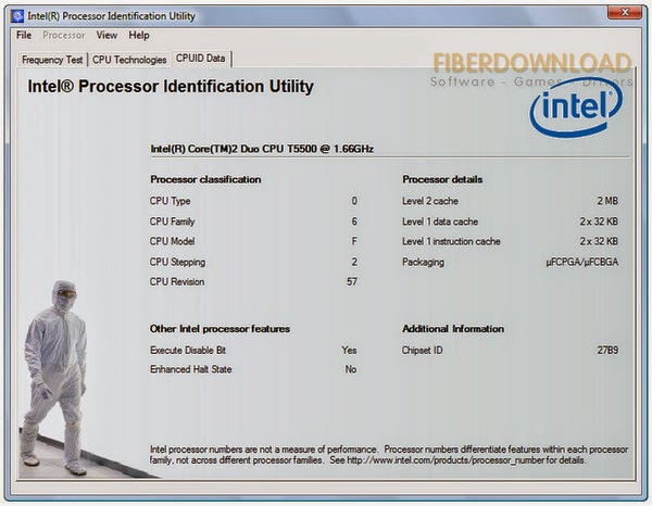 Intel Processor Identification Utility 5.01 Free